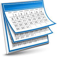 Calendario Attivita.Calendario Attivita Maggio Giugno 2019